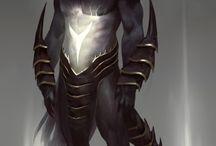 Myth / characters design