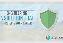 Benefits of Engineering / Engineering is a Solution that protects your career.   For Various Engineering Courses Visit:- www.jagannathuniversityncr.ac.in
