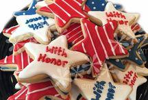 Patriotic Cakes and Cookies