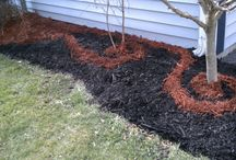 Creative Hippie Mulch Products / Various unique ways to use the Hippie Mulch products for creative and fun ways to spruce up your garden! Easy for any homeowner! #Do-It-Yourself