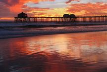 Beaches/ocean ahhhh! / I've never experienced anything like it when I stepped foot on a sandy beach with the ocean out in front of me...It's breath taking / by Amy Stegall