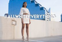 #AllWhiteEverything / All White Looks For Any Occasion