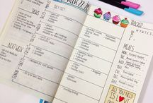 Bullet Journal / Organisation and pretty journaling
