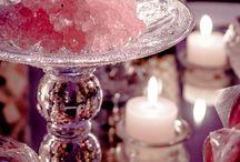 Ambientación Candy LOVE... / Ambientamos una hermosa mesa dulce con temática LOVE... tonos rosas, fucsias y blancos enmarcaban y daban calidez a una mesa super romántica...
