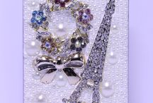 """Bling Phone Cases by PearlsForHire / Bringing you our latest """"Bling"""" style cases"""