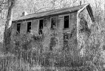 Pre Loved Homes now Sad & Abondoned / If only they could tell their story  / by Ruby Ella
