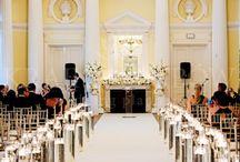 Classic & chic white wedding