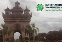 Volunteer in Laos / Volunteer in Laos with International Volunteer HQ! IVHQ has a wide range of volunteer abroad projects in Laos, including Teaching, Special Needs/Childcare, Medical and Construction and Renovation. / by International Volunteer HQ