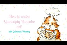 Guineapig recipes / A board filled with yummy recipes on making a mix of guineapig food treats for them to enjoy!