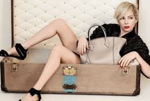 Michelle Williams in Louis Vuitton spring 2014 campaign / Michelle Williams comes back  as the face of Louis Vuitton. The campaign will break in the May 2014 issues of magazines worldwide. The shoot was styled by French stylist and magazine editor, Carine Roitfeld.