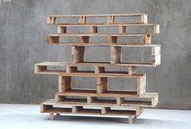 Waste Wood Pallet furniture.