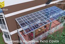 Sunshield Aluminum Patio Cover