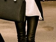 Staple piece - leather pants