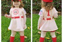 Kickball Kostumes / Costumes for our kickball team