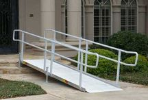 Modular Wheelchair Ramps for Businesses / Modular Wheelchair Ramps for Businesses Meet ADA, OSHA and IBC2006 Code