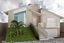 Dream home / Fachadas, salas e decoração!