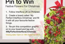 My Perfect Interflora Christmas / #MyPerfectInterfloraChristmas How I would love my Christmas to be , flowers add that special touch.