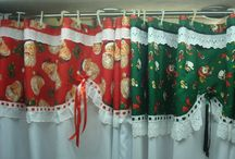 cortinas navideñas