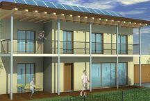 Energy efficient Architecture / Building designs with energy efficient features.