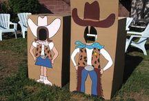 Jhanke Cowboy party