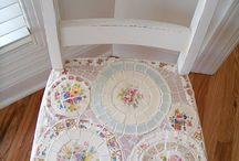 chaise ceramique