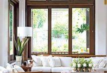 Holzfensterrahmen