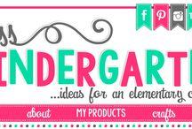 Kindergarten - Blogs / by Kinder Teacher