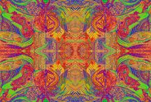 trippy and psychedelic shit