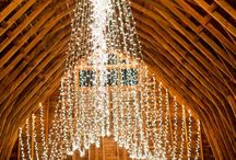You Light Up a Room / Gorgeous wedding lighting