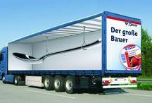 3D truck branding