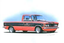 Projekty do wypróbowania / Pokazuję moje pomysły na pojazdy klasyczne w nieco inym wydaniu. I jeżeli to możliwe realizuje je w rzeczywistości.
