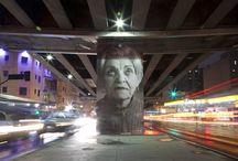 Down my street / Street art, murals and graffiti art.