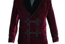 Velvet jackets men