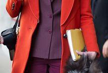 Красный и пурпурный