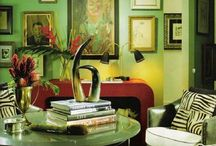 Inspirational Rooms in Green / Green
