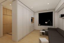 Interiors - Small apartments