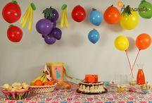 Decoração com balões diferentes / Ideias criativas de decoração com balões