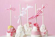 Mini cakes and cake pop ideas