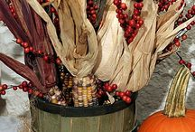 Fall decorating / by Tracy Beenken