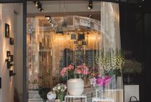 интерьер цветочных магазинов