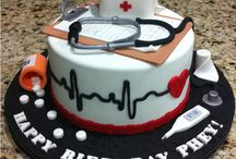 Nursing Inspired Cakes and Treats / Cakes and treat only a nurse would love!