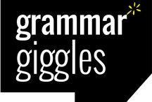 Grammar Giggles / Grammar & language based humour