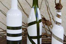 garrafas reutilizadas