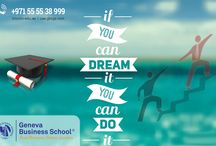 BBA, MBA. To get details about please visit our site https://lincoln-edu.ae/, http://uae.gbsge.com/