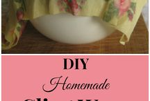 DIY Household Products / Cleaning, storage, etc