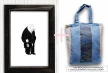 Le Petit Kit / ¡Elegí el cuadrito y el bolso que más te gusten y combínalos como quieras!