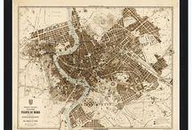 cartography - city maps
