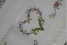 kanaviçe havlu