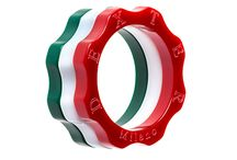 CHAMPION MOOD! / Combination of three rings to compose your national flag - Combinazione di tre anelli per comporre la bandiera della tua nazionale