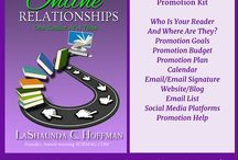 Book: Building Online Relationships - One Reader At A Time / Book Promotion, building relationships with readers.